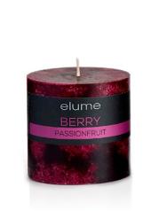 Elume Berry Passionfruit 7.5cm Pillar Candle