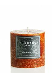 Elume Chai Tea 7.5cm Pillar Candle ...Last Stock Available