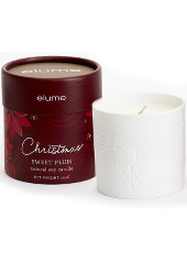 Elume Christmas Sweet Plum Jar Candle