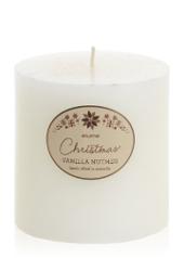 Elume Christmas Vanilla Nutmeg 10cm Pillar Candle