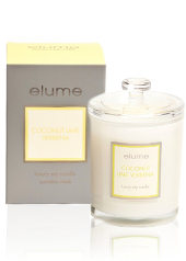 Elume Luxury Coconut Lime Verbena Candle
