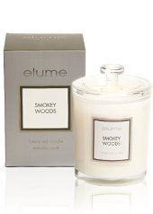 Elume Luxury Smokey Woods Candle
