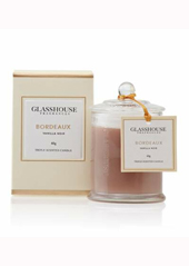 Glasshouse Bordeaux Vanilla Noir Mini Candle...Last Stock Available