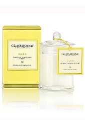 Glasshouse Cuba Mini Candle ......Last Stock Available!