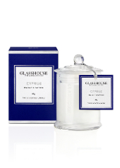 Glasshouse Cyprus Sea Salt and Saffron Mini Candle