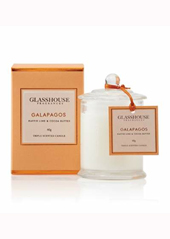 Glasshouse Galapagos Kaffir Lime and Coco Butter Mini Candle