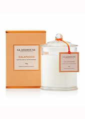Glasshouse Galapagos Kaffir Lime and Coco Butter Candle .....Saying Goodbye In Feb 2017