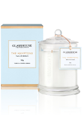Glasshouse The Hamptons, Teak and Petitgrain Candle