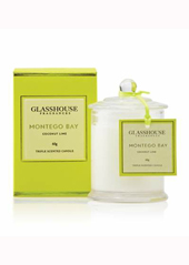 Glasshouse Montego Bay Lime & Coconut Mini Candle