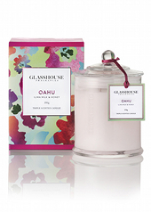Glasshouse Oahu Ilima Milk & Honey Limited Edition Candle