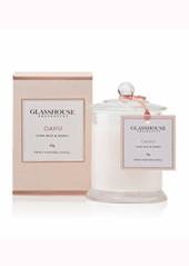 Glasshouse Oahu Ilima Milk & Honey Mini Candle