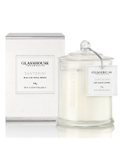 Glasshouse Santorini Blue Jasmine & Hedera Candle