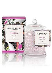 Glasshouse Verona, A Dozen Roses Candle, Limited Edition Mini