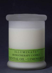 Illuminate Lemongrass Aromatherapy Blend Jar Candle