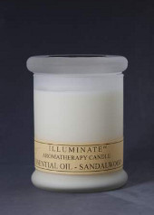 Illuminate Sandalwood Aromatherapy Blend Jar Candle