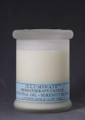 Illuminate Serenity Aromatherapy Blend Jar Candle