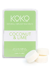 Koko Coconut & Lime Soy Wax Melt