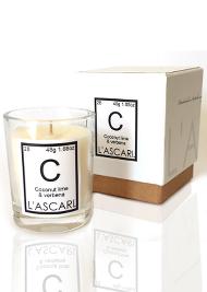 L'ascari Coconut, Lime & Verbena Votive Candle