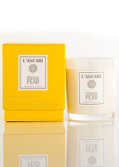 L'ascari French Pear Yellow Candle