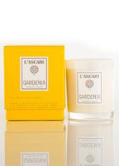 L'ascari Gardenia Yellow Candle