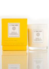 L'ascari Vanilla Caramel Yellow Candle