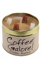Lily Flame Coffee Galore Tin Candle