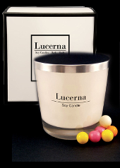 Lucerna Bubble Gum Large Tumbler Candle