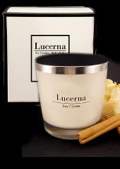 Lucerna Apple Cinnamon Slice Large Tumbler Candle