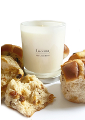 Lucerna Hot Cross Bun Special Edition Candle  ....Last Stock Available