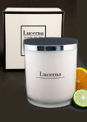 Lucerna Orange and Bergamot Large Tumbler Candle