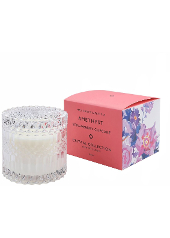 Mrs Darcy Amethyst Strawberry Cupcake Crystal Candle