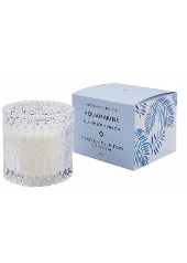 Mrs Darcy Aquamarine Cucumber Melon Crystal Candle