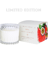 Mrs Darcy Opal Pavlova & Summer Fruits Crystal Candle