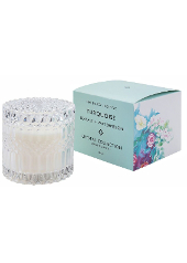 Mrs Darcy Turquoise Sea Salt & Watermelon Crystal Candle