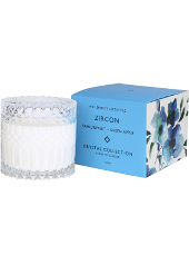 Mrs Darcy Zircon Passionfruit & Green Apple Crystal Candle