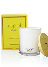 Napali Beach Miami Large Candle