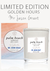 Palm Beach Golden Hours Limited Edition Candle .....Last Stock Available