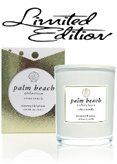 Palm Beach Limited Edition Rosewood & Balsam Christmas Candle