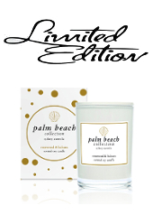 Palm Beach Limited Edition Rosewood & Balsam Mini Christmas Candle