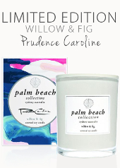 Palm Beach Prudence Caroline Willow & Fig Limited Edition Candle .....Last Stock Available