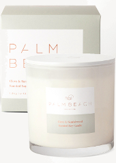 Palm Beach Clove & Sandalwood Deluxe Candle