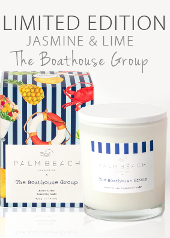 Palm Beach The Boathouse Limited Edition Candle