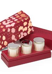 Peppermint Grove Christmas Mini Candle Gift Set