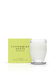 Peppermint Grove Coconut, Grapefruit & Lime Small Candle