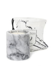 Phosphenes Wildflower and Honey Marble Candle