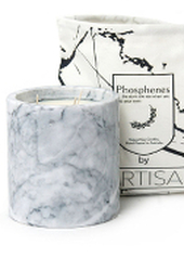 Phosphenes Wildflower and Honey Large Marble Candle