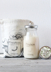Phosphenes Wildflower and Honey Milk Bottle Candle