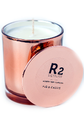 R2 Designs Fig & Cassis Copper Candle