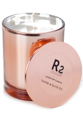 R2 Designs Thyme & Olive Oil Copper Candle
