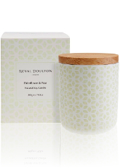 Royal Doulton Pastels Elderflower Pear Candle